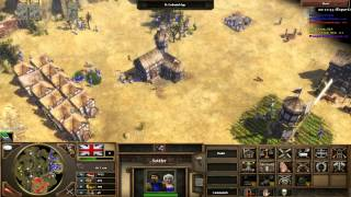 Age of Empires III Live Commentary - 2v2 Online #1
