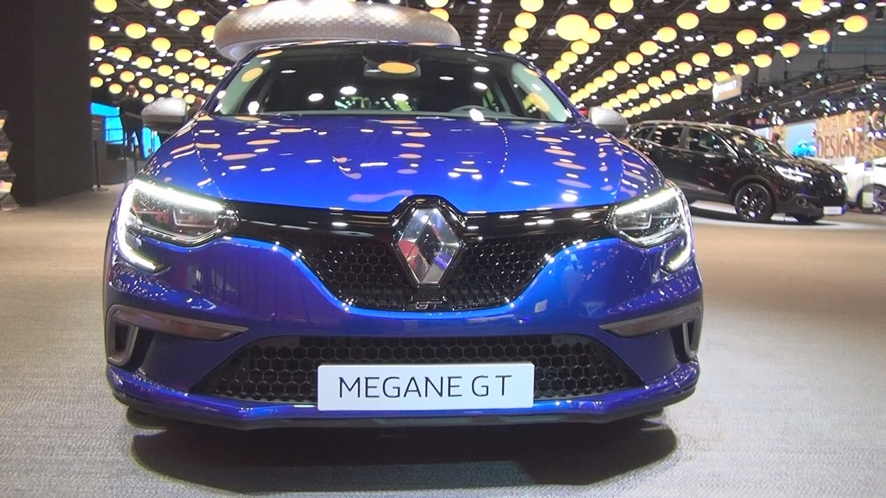 Renault Megane GT (2017) Exterior and Interior in 3D