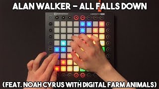 Download Lagu Alan Walker - All Falls Down (feat. Noah Cyrus with Digital Farm Animals) // Launchpad Pro Cover Mp3