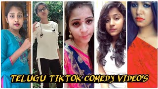 Best Telugu Tiktok comedy videos//Telugu Dubsmash videos//Telugu Beautiful Girls Tiktok videos 2019