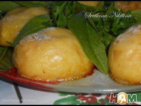Картофельные шарики зразы с грибами  Пошаговый рецепт