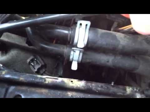 2004 Dodge Neon Engine Coolant Sensor Replace Youtube