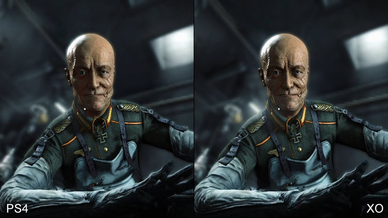 Wolfenstein The New Order vs The Old Blood Graphic Comparison .