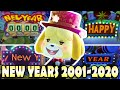 - 🎆 Evolution Of New Years in Animal Crossing 2001 - 2020