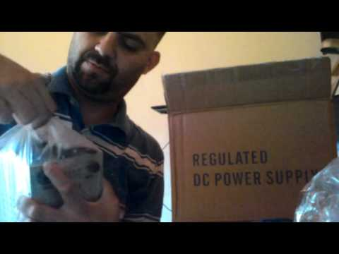 UNBOXING - FONTE DE BANCADA AIDA - YOUTUBE