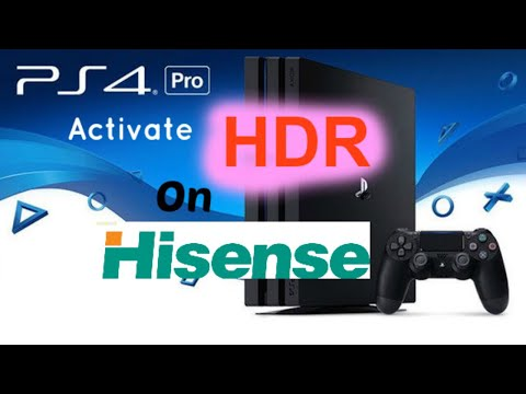 Hisense HDR on PS4 Pro