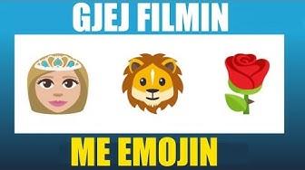 Gjej Filmin me ane te Emojit