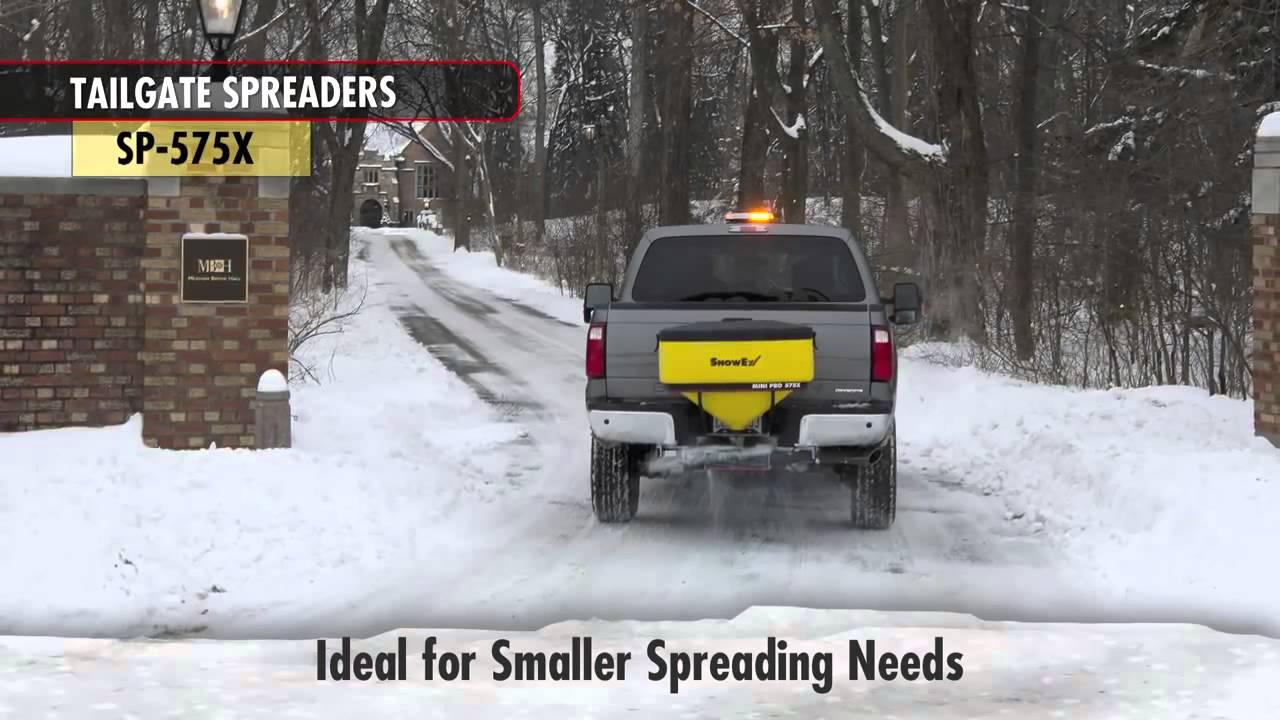 Snowex Sp 575x Tailgate Spreader Youtube Wiring Harness