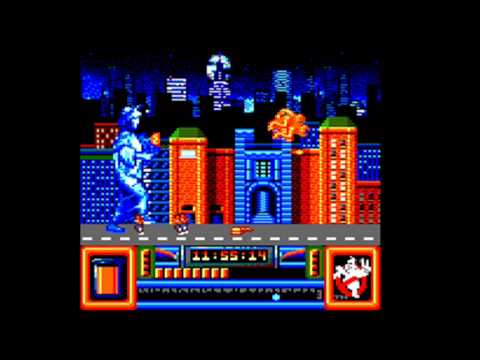 [AMSTRAD CPC] Ghostbusters II - Longplay & Review