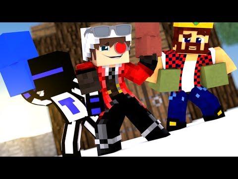 У КОГО ДЛИННЕЕ СТОЛБ! БИТВА ЮТУБЕРОВ СВОИМИ СТОЛБАМИ! | Minecraft