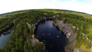 Ruskeala marble lake