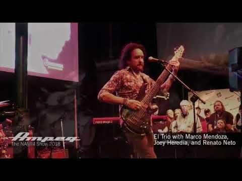 El Trio with Marco Mendoza, Joey Heredia, and Renato Neto Live at NAMM 2018   Live Stream