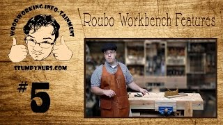 Otw5- 2x6 Roubo Workbench Part 2, Flattening A Bench Top With Hand Planes