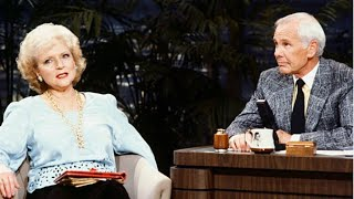 Betty White Is Extremely Entertaining on Johnny Carson (2/10/1987)
