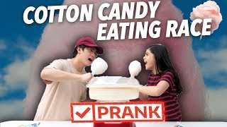 Baixar COTTON CANDY EATING RACE PRANK!! | Ranz and Niana