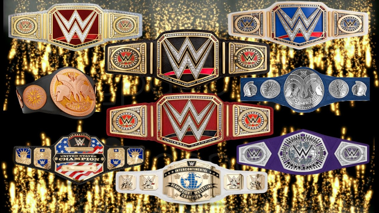 Image result for WWE Titles