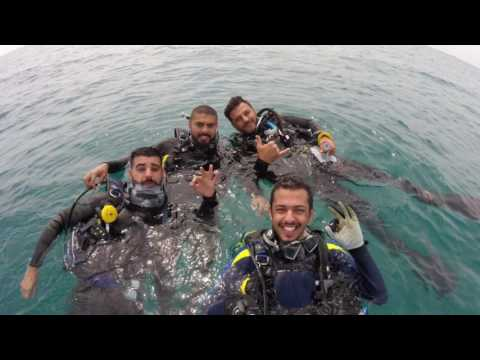 Diving in kuwait with Ali Abbas