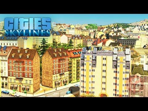 Cities: Skylines - Кварталы старого города! #40