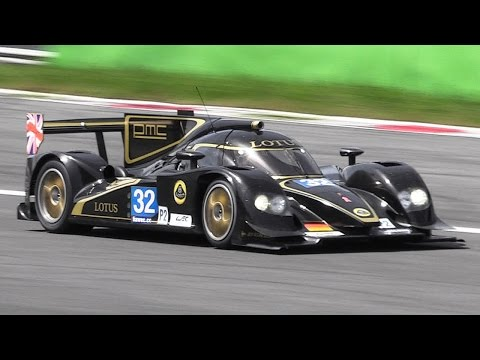 2012 Lotus LMP2 Prototype - Lola B12/80 Sound with Judd V8 Engine