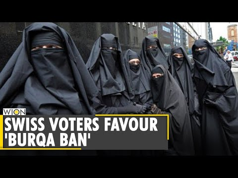 Switzerland voters favour 'burqa ban'   Poll shows clear support for ban   World News   WION News
