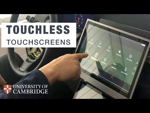 Can Touchless screens prevent future epidemics and car accidents?