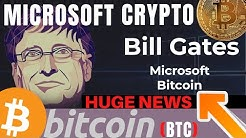 MICROSOFT CRYPTOCURRENCY | Microsoft Crypto Bitcoin Cryptocurrency News