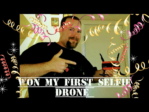 Won my first selfie drone(review of JXD 523 tracker selfie)
