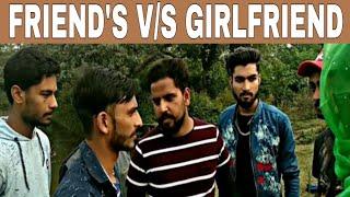 FRIENDS V/S GIRL FRIEND (HIMACHALI FUNNY VIDEO) MANGO CITY BOYS