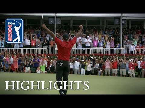 Tiger Woods wins TOUR Championship for 80th victory on PGA T