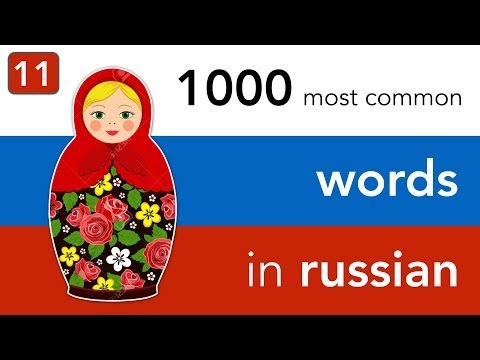 Russian vocabulary - lesson 11 | City life - buildings and organisations you find in a city.