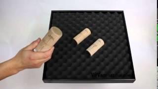 Twin Shaker Grave Hetre/Palissandre vidéo