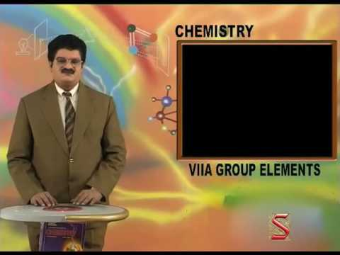 VII A Group elements(11- Fluorine)