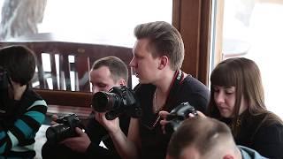 Мастер-класс по свадебной фотографии преподаватель-фотограф Сергей Лысенко город Полтава 2018 год