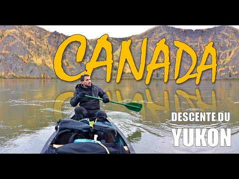 Canada 2015 - Descente du Yukon en canoe (le Film)