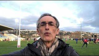 Rugby - La minute Bleus : le XV de France en pleine préparation du Tournoi à Nice