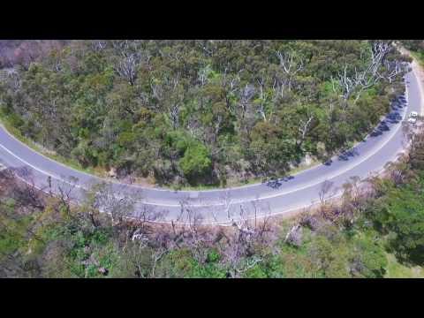 Drone over Arthurs Seat - Melbourne