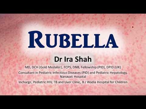 Dr Ira Shah | Rubella - How It Spreads, Rash, Congenital Rubella Syndrome & Isolation.