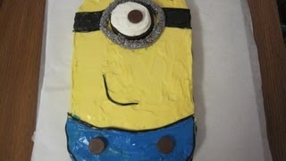 How to make the Minion Cake from Despicable Me