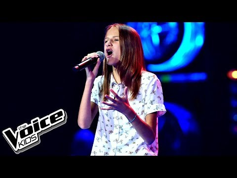 """Gabrysia Zatorska – """"Chcę zatrzymać ten czas"""" – Przesłuchania w ciemno – The Voice Kids Poland"""