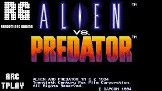 Alien vs. Predator - Arcade Capcom - [TruePlay - Playthrough] [No Commentary][HD 1080p]