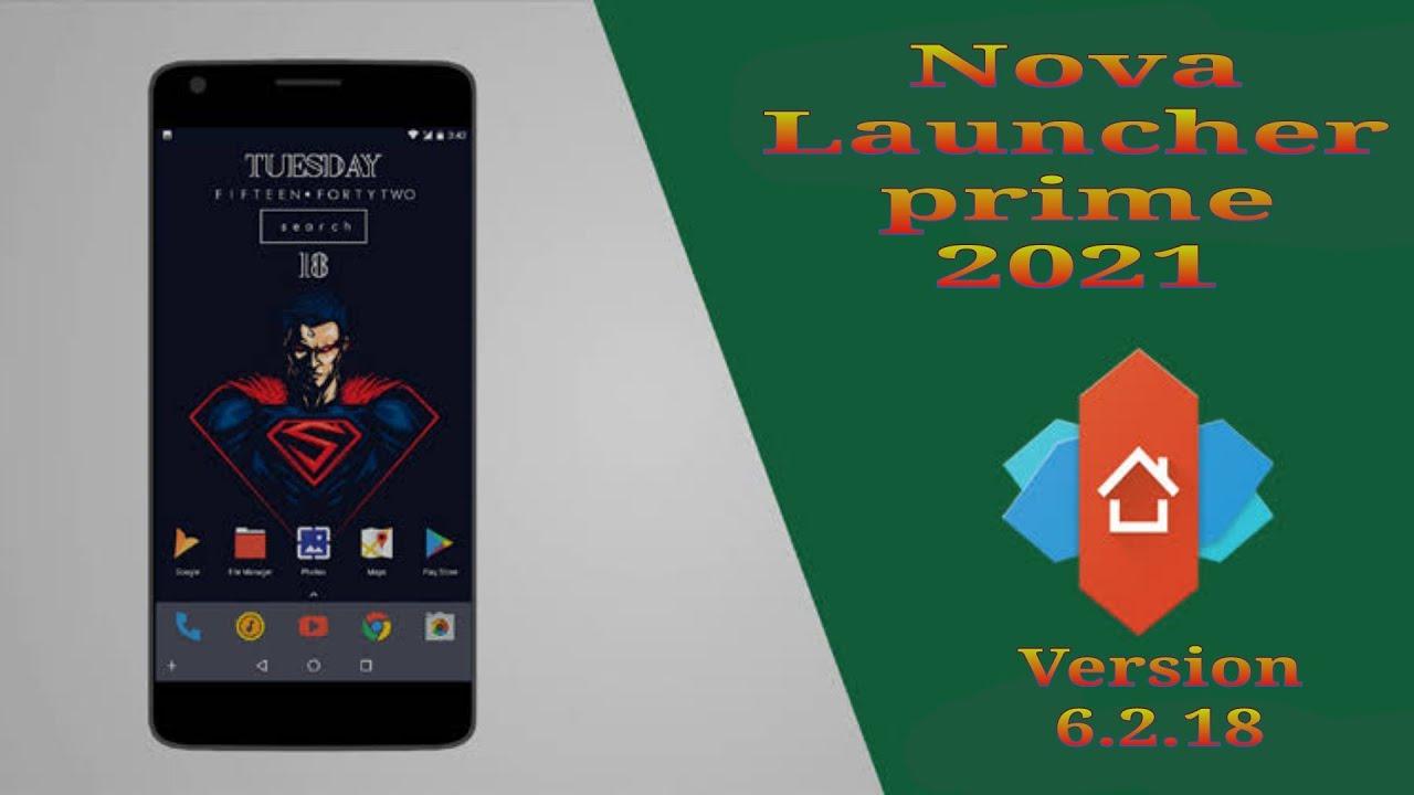 Nova Launcher Prime Apk Final Mod Unlocked 2021 Nova Launcher Prime 6 2 18 Apk Youtube
