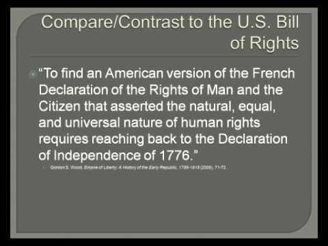 23. Declaration of the Rights of Man and the Citizen — August 1789
