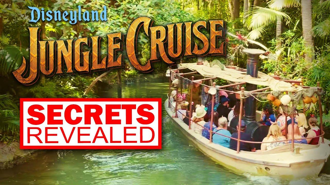 Disneyland's Jungle Cruise SECRETS REVEALED