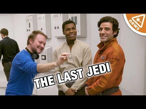 The 3 Last Jedi Controversies Debunked by Rian Johnson! Nerdist  w Jessica Chobot