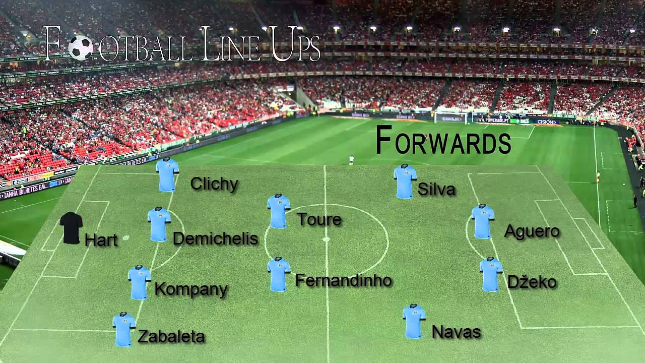 Burnley 1-0 Manchester City (M. City Starting Lineup ...