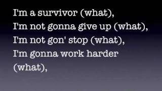 Survivor Lyrics - Destiny