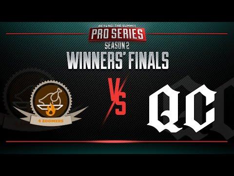 4Zoomers vs Quincy Crew Game 1 - BTS Pro Series 2: Americas - Winners' Finals w/ T-Panda & Kips