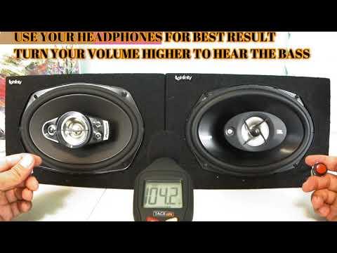 Pioneer TS-A6970F A Series 6X9 600 Watts  VS JBL Stage 9603 420 Watt 6x9 Real Review!