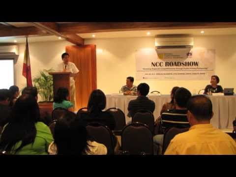 National Competitiveness Council Roadshow in Bohol, Philippines
