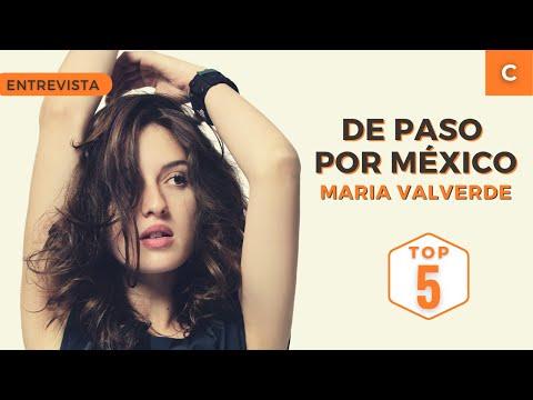 María Valverde en México